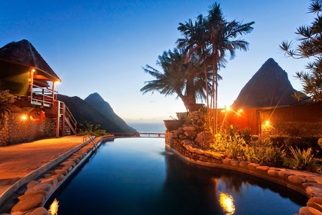 Epic views at Ladera Resort, St. Lucia | I Love Traveling | Scoop.it