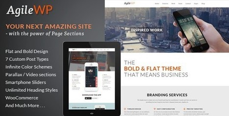 30+ Best Responsive WordPress Technology Themes | AWD | Web Designs | Scoop.it