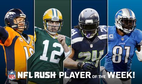 NFL Player of the Week? | NFL Football and Fandomonium | Scoop.it