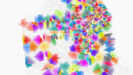 MIT Creates A New Map A Day To Inspire Social Change | Everything is related to everything else | Scoop.it