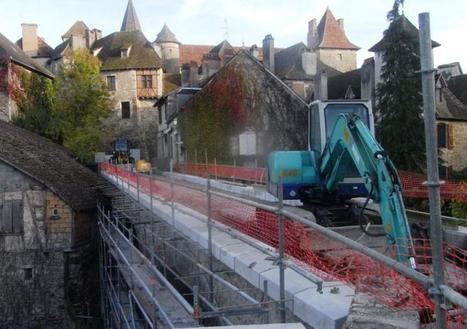 Le pont de Carennac en travaux | Autour de Carennac et Magnagues | Scoop.it