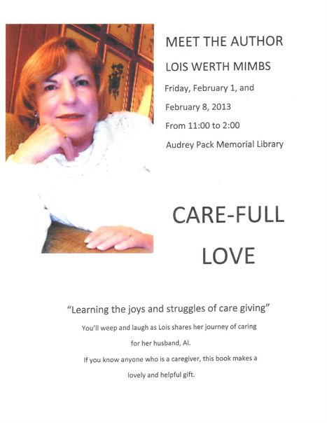 Book Signing at Audrey Pack Memorial Library with Lois Werth Mimbs | Tennessee Libraries | Scoop.it