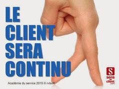 Sens du client - Le blog des professionnels du marketing client et de la relation client: Le client sera continu (Tendances relation client 2015 - 3/10) | New Marketing : Data-Brand-Content-CustomerExp | Scoop.it