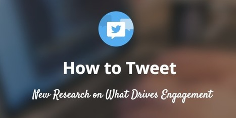 What 1M Tweets Taught Us About How to Tweet Successfully | Public Relations & Social Media Insight | Scoop.it