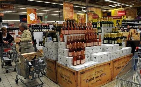 Le chiffre du jour : - 30 % pour les vins de France en hypers et supers.   Vos Clés de la Cave   Scoop.it