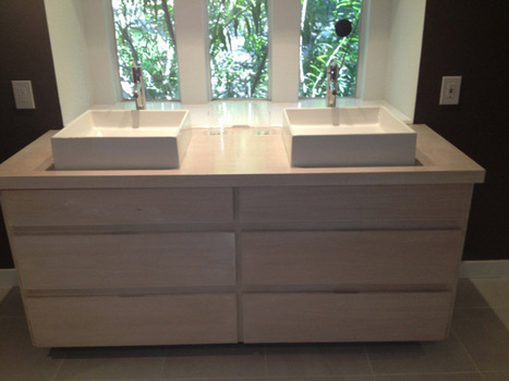 Selecting the Right Material for a Bathroom Vanity | Remodeling services | Scoop.it
