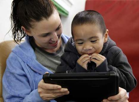 Touch screens, apps give a voice to autistic kids   ASD in the Classroom   Scoop.it