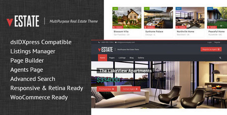 vEstate Real Estate WP Theme (Corporate) - Free Download | Art is cool | Scoop.it