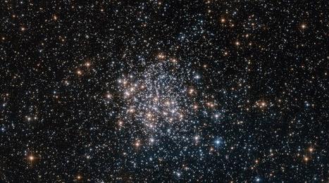 Espace : Hubble photographie un étonnant amas stellaire près de la Voie Lactée | The Blog's Revue by OlivierSC | Scoop.it