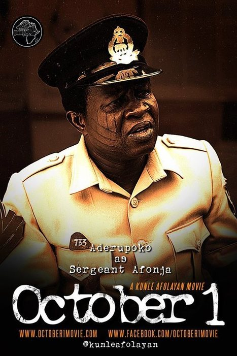 Character Posters From Kunle Afolayan's Next - The 1960s Set Serial Killer Thriller 'October 1'   Film and Television   Scoop.it