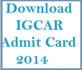 Download IGCAR 2014 Admit Card Junior Research Fellow hall ticket | Careerit | Scoop.it