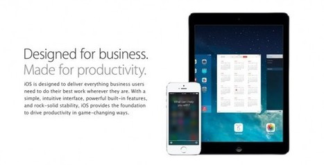Apple Makes It Easier To Manage iOS Devices In Enterprise, Education -- AppAdvice | Mobile Education: Schools of the Future | Scoop.it