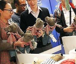 Stuffed toy wolf becomes anti-government symbol in Hong Kong | Sustain Our Earth | Scoop.it