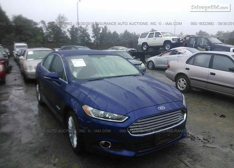 2013 FORD FUSION | Salvage Auto Auction | Scoop.it