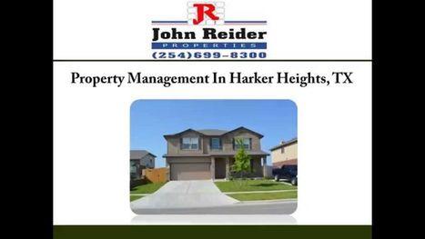 Harker Heights Property Management | John Reider Properties | Scoop.it