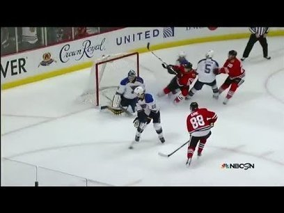 Patrick Kane fires the OT winner past Miller | Social Media Branding | Scoop.it