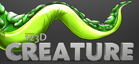 SketchBook - SketchBook - Introducing 123DCreature   AutodeskHelp   3D Printing News   Scoop.it