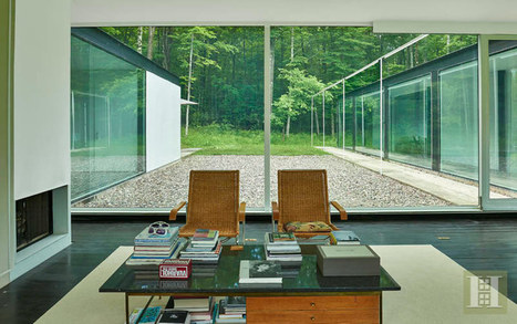 Glass House by Michael Bell, Ghent, New York | studioaflo | Scoop.it