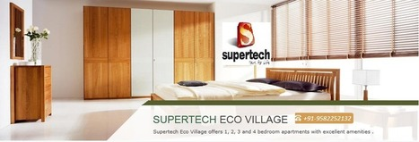 Supertech Eco Village 3 an eco friendly project by deepikapathania on deviantART | Residential Property in Noida | Scoop.it