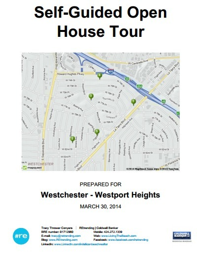 Self-Guided Open House Tour - Westchester CA Real Estate (Westport Heights Edition) | 90045 Trending | Scoop.it