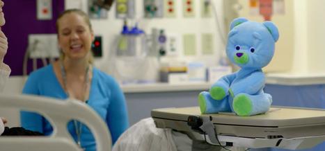 Une peluche intelligente peut communiquer avec des enfants malades - HelloBiz | Aidants familiaux | Scoop.it