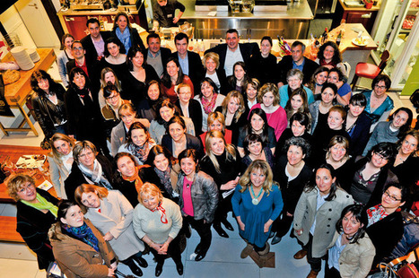 LES REPORTAGES DE SOMMELIERS INTERNATIONAL - Des femmes et du vin! | Wino Geek | Scoop.it