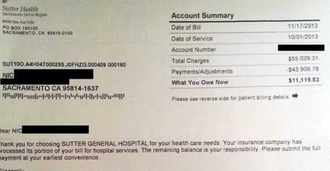 Some Guy Posted His Hospital Bill Online. You'll See Why Everyone's Talking About It. - Viral News | Medical Tourism | Scoop.it