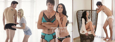 Lingerie For Men: Homme Mystere Mangerie Puts A Bow On It | Carol Ruth Weber | Living style | Scoop.it