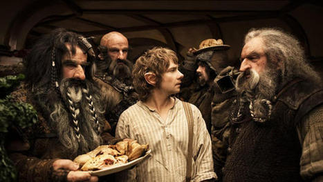 """Interactive Chart Tracks The Narrative Structure Of """"The Hobbit"""" 
