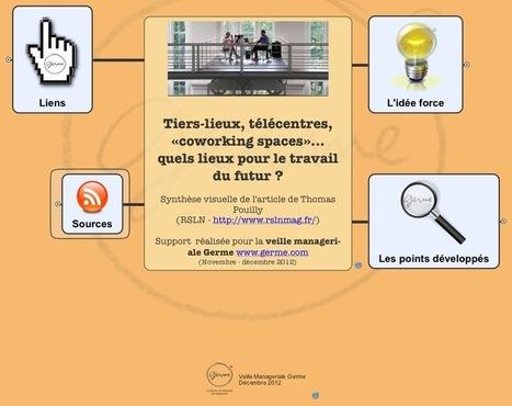 [Veille] Tiers-lieux, télécentres, «coworking spaces»… quels lieux ... | ça nous intéresse ! | Scoop.it