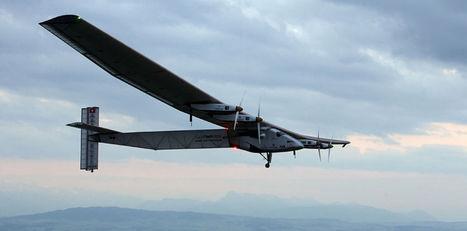 Avión de energía solar realizó vuelo de prueba - La Nación Costa Rica   Energias Renovables - Energías Alternativas   Scoop.it