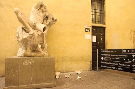 Student destroys 19th century statue while taking a selfie   News in Conservation   Scoop.it