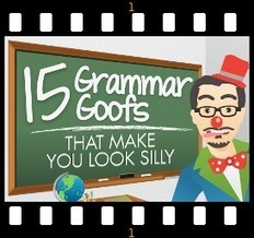 Better Grammar for Business Writing - Get Around Those Grammar Goofs - Infographic | Basic Blog Tips | Scoop.it