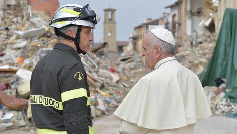 Paus Franciscus bezoekt Italianen in aardbevingsgebied   La Gazzetta Di Lella - News From Italy - Italiaans Nieuws   Scoop.it