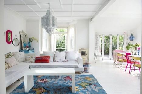 A brilliantly bright home | Décorations en tous genres | Scoop.it