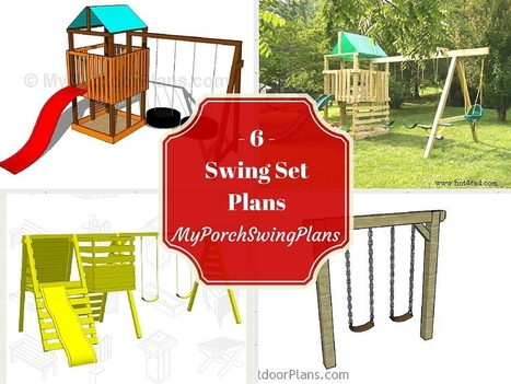 6 Free Swing Set Plans | Garden Plans | Scoop.it
