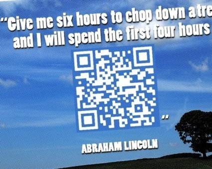 What's Missing From These Quotes? QR Codes Hide the Answers! | Transformational Teaching and Technology | Scoop.it