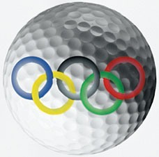 olympic golf ball