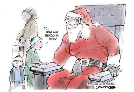 Le Père Noël connaît bien la Chine ... | Chine Actu | Scoop.it