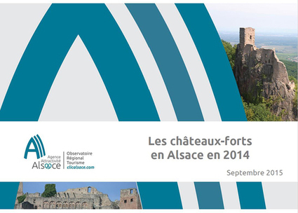 Les châteaux forts en Alsace en 2014 - Observatoire Tourisme Alsace - ORTA | Le site www.clicalsace.com | Scoop.it
