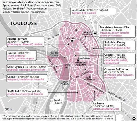Logement : choisissez le quartier qui vous ressemble - LaDépêche.fr | CDI RAISMES - MA | Scoop.it