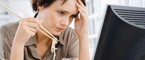 Ojo: comer en el puesto de trabajo perjudica tu productividad ... | Administración de Operaciones | Scoop.it