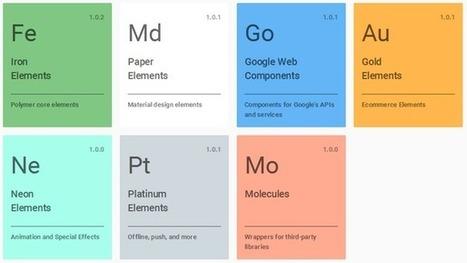 Google Polymer 1.0: Creating Interoperable Web Components - Hidden Brains Blog | Mobile Technology | Scoop.it