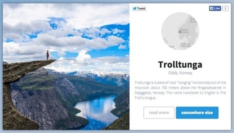 Travel the world from your web browser with this beautiful Instagram hack | TechCrunch | Digital-News on Scoop.it today | Scoop.it