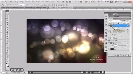 Tutoriel Photoshop gratuit : créer un effet de Bokeh en arrière-plan ... | Photographie | Scoop.it