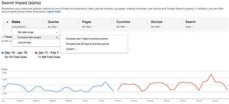 Google Webmaster Tools : le nouveau rapport sur les requêtes se dévoile | Digital update | Scoop.it