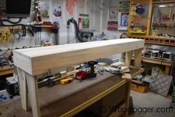 Hoosier Bed Bench - WoodLogger | Woodworking | Scoop.it