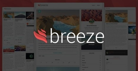 Breeze | Minimalist Responsive Personal Blog - WordpressThemeDB | WordpressThemeDatabase | Scoop.it
