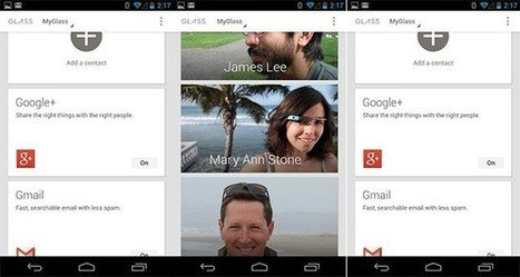 MyGlass, la app Android que gestiona Google Glass, ya disponible | apps educativas android | Scoop.it