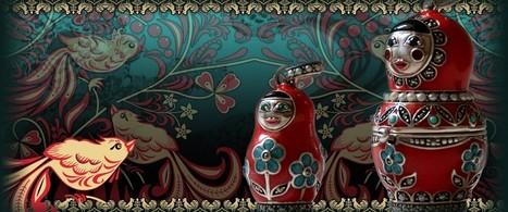 Russian | Kokeshi Dolls | Babushka Nesting Doll | Russian Doll | The Confidante Dolls | Kokeshi Doll | Scoop.it